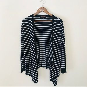 ACTIVE USA COLLECTION Striped Cardigan M
